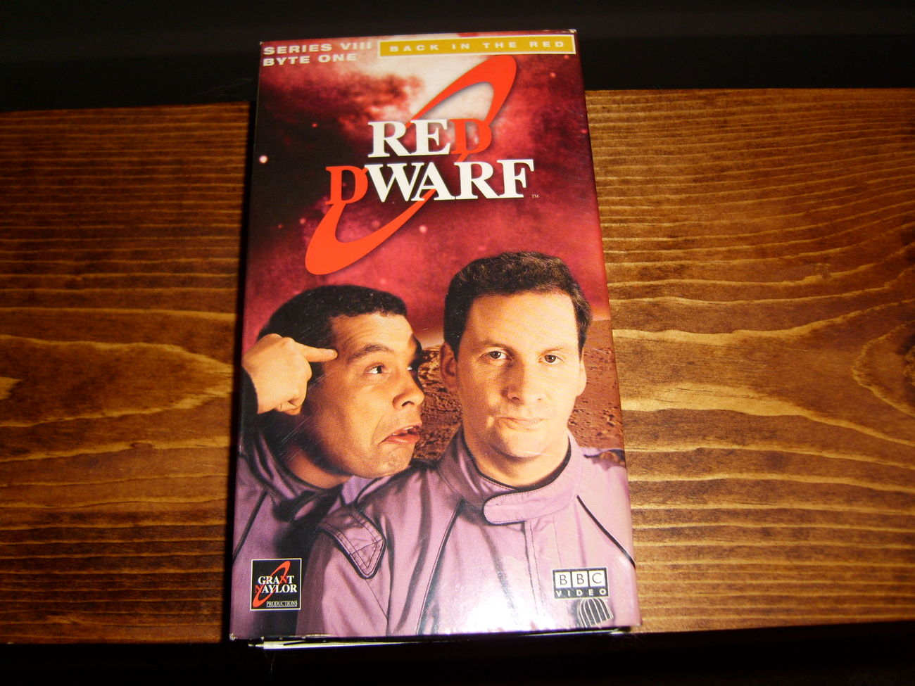 Red Dwarf Series VIII Byte 1: Back in the Red VHS