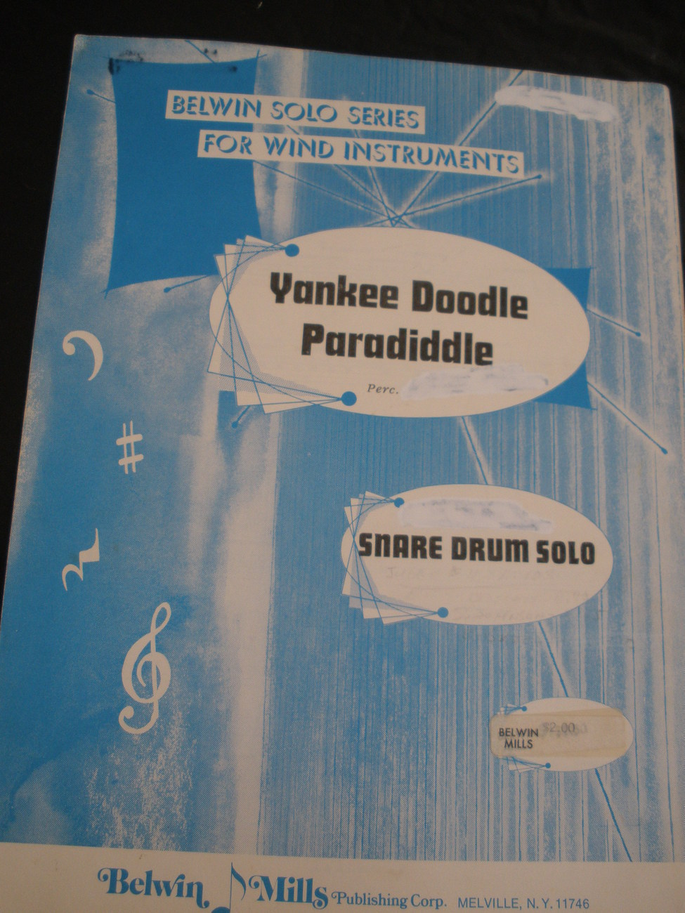 Yankee doodle paradiddle   lotzenhiser