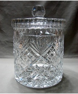 Stunning Large Crystal Biscuit/Cookie Jar   - $59.99