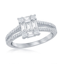 Women's .925 Silver Solitaire ring - $42.99