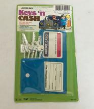 vintage 1988 Gordy international toy just like dad's  keys n cash vinyl ... - $19.75