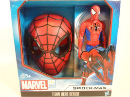 """Spiderman Face Mask and 11- 1/2"""" Action Figure Titan Hero Series - $19.02"""