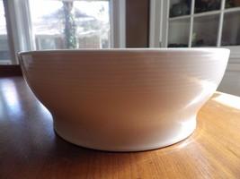 Vintage Michael Graves Oak Leaf Yellow Serving Bowl White Blue Interior - $22.72