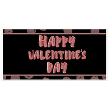 Balloons Valentine's Day Banner Party Backdrop Decoration - $22.28+
