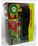 Air Wick Freshmatic Ultra Automatisch Spray Ätherische Öle Wald Kiefer Duft - $8.59
