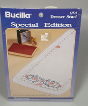 Bucilla Dresser scarf kit bridal shower gift traditional grandma gift - $16.99