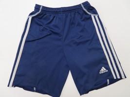 Adidas Clima365 Shorts Youth Medium Blue Boys Kids Athletic - $7.99