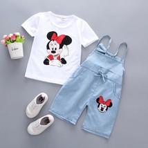 kid girls summer cotton short sleeve clothes - $11.02+