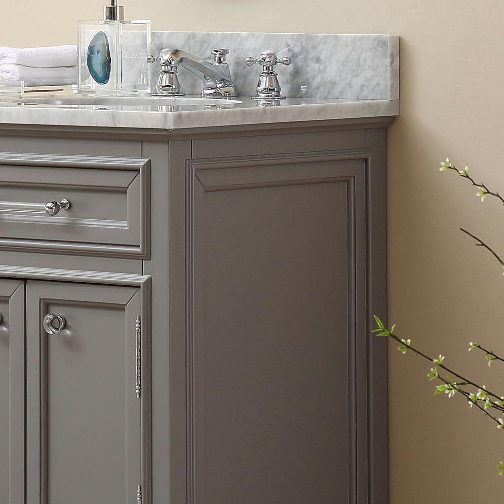 Bathroom Vanity Top 24 in. W x 21.5 in. D x 34 in. H ...
