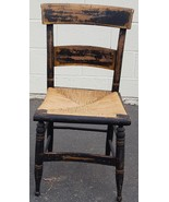 Antique Slat Back Side Chair - NEEDS TLC - GREAT VERY OLD SIDE CHAIR - R... - $98.99