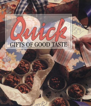 Quick Gifts of Good Taste Memories in the Making Series Cookbook 1994 Christmas  - $10.00