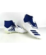 Adidas Mens DA9563 Adizero 5-Star 7.0 Mid Cleats - White/Blue Sz 13.5 - $31.47