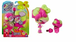 Candylocks Doll + Pet - Straw-Carrie Mudslide & Squeaky Squirrel by Spin... - $16.92