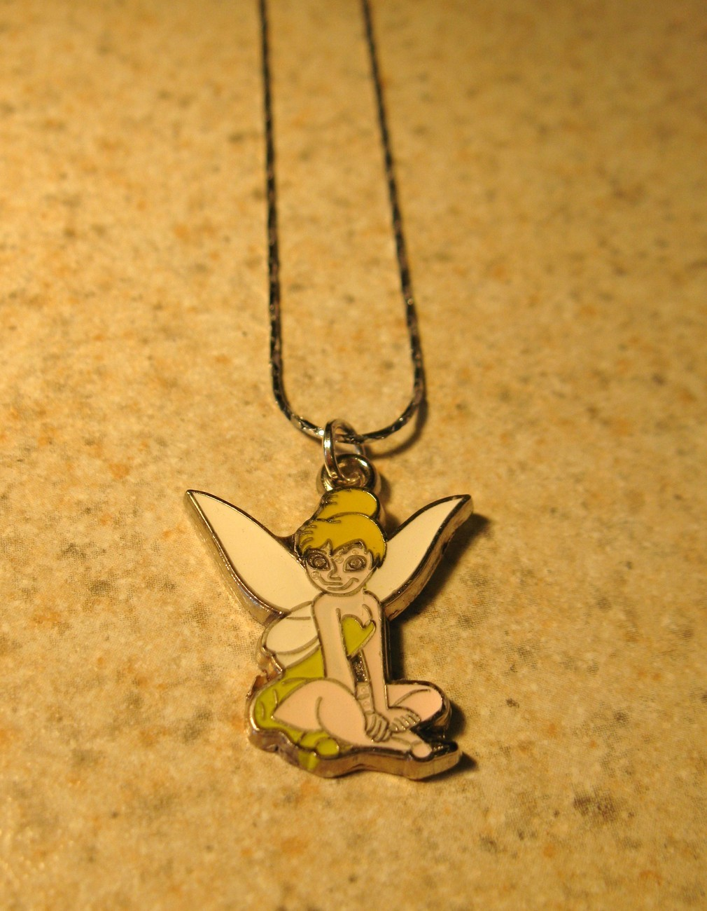 E 679 tinkergell fairy necklace