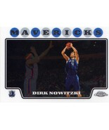 2008-09 Topps Chrome Dirk Nowitzki Dallas Mavericks - $2.50