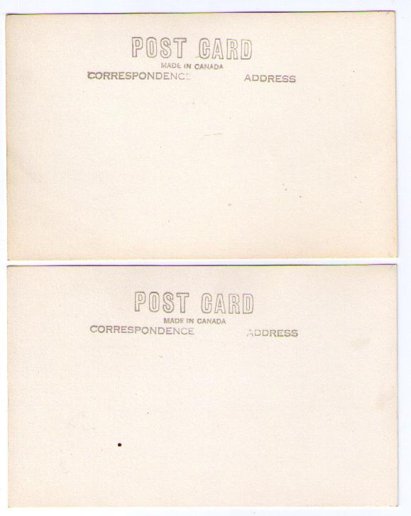 RPPC - 5 postcards at Deep Cove Bay, B. C.