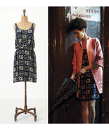 NEW 2011 Anthropologie Gameboard Silk Dress 4/S... - $89.99
