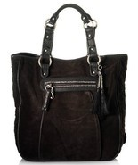 JUICY COUTURE Large Black Yves Velour Tote Bag Handbag (MAKE AN OFFER) - $192.65
