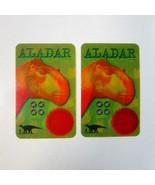 2 Vintage 2000 Walt Disney Dinosaur Movie Herosaur ALADAR Trading Cards - $8.99