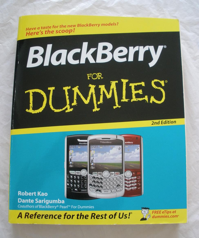 Blackberry for dummies   kao