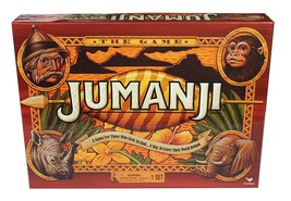 **NEW** JUMANJI WOODEN Play Pieces BOX BOARD GAME Full Sized CARDINAL ED... - $32.29