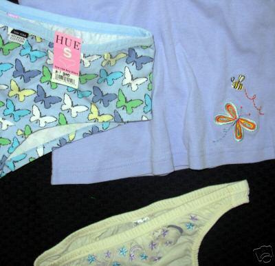 new $27 lot JENNI Sleep Shirt HUE + C CLUB Panties XS S