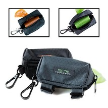Mighty Paw Dog Poop Bag Holder, Premium Quality Pick-up Bag Zippered Pouch, Incl