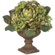 Artichoke Centerpiece Silk Flower Arrangement - $57.65