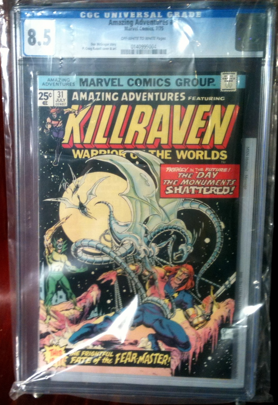 Primary image for Amazing Adventures (1970) # 31 CGC Graded 8.5 Marvel Comics