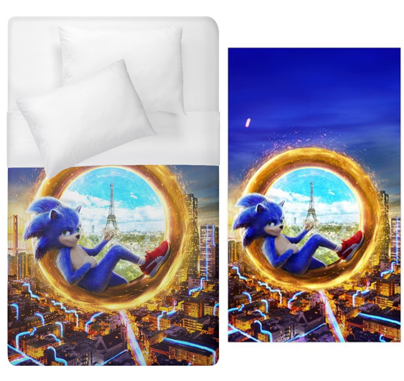 Primary image for Sonic Duvet Cover Single Bed Size