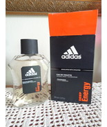Deep Energy by Adidas for Men EDT Cologne Spray 3.4 oz. NEW - £35.50 GBP