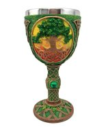 Atlantic Collectibles Large Mystical Celtic Sacred Tree of Life Rejuvena... - $23.99
