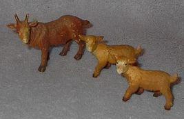 Made in Germany Bullyland Soft Goats Farm Animals Nativity Cresh - $10.00