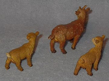 Made in Germany Bullyland Soft Goats Farm Animals Nativity Cresh
