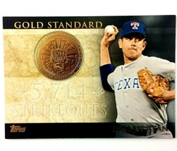 Nolan Ryan 2012 Topps Gold Standard Insert #GS-40 MLB HOF Texas Rangers - $3.91