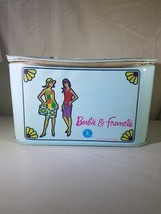1965 Mattel Barbie & Francie zip shut carry case USED - $9.49