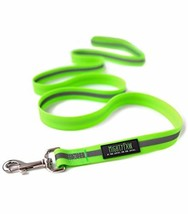 Mighty Paw Waterproof Dog Leash, Smell-Proof Active Dog Gear, Coated Nylon Webbi