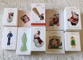 Hallmark Keepsake Christmas Ornaments Lot Of 10 New - $29.70