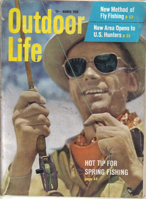 (12) 1958 Outdoor Life MAGAZINES-JANUARY-DECEMBER;FISH,HUNT,TRAP,SHOOT,SKEET image 3