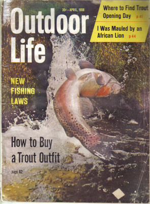 (12) 1958 Outdoor Life MAGAZINES-JANUARY-DECEMBER;FISH,HUNT,TRAP,SHOOT,SKEET image 4