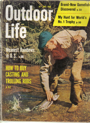 (12) 1958 Outdoor Life MAGAZINES-JANUARY-DECEMBER;FISH,HUNT,TRAP,SHOOT,SKEET image 5