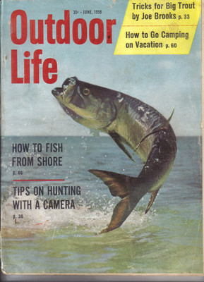 (12) 1958 Outdoor Life MAGAZINES-JANUARY-DECEMBER;FISH,HUNT,TRAP,SHOOT,SKEET image 6