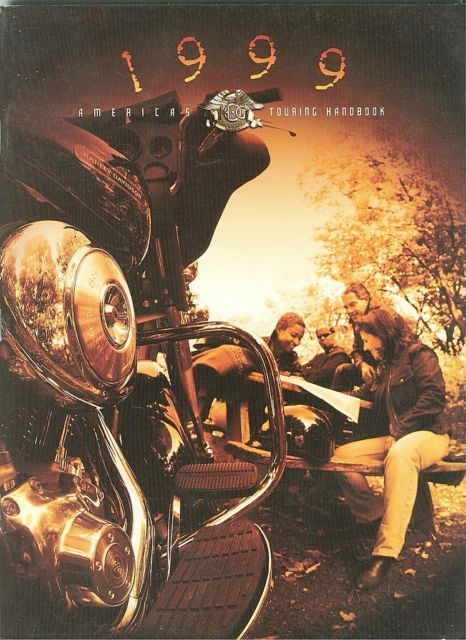 1999 HARLEY OWNERS GROUP H.O.G. TOURING HANDBOOK-MAPS,INFO;HAVE FUN,RIDE SAFELY!