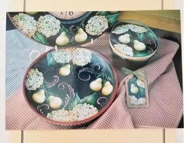 """Hanna Long Decorative Painting Tole Pattern Packet """"Essence of Time"""" image 3"""