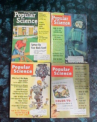 28 ISSUES POPULAR SCIENCE- 1962-1971-CARS,BOATS,MACHINES,SHOP SHORT CUT S& TIPS image 3