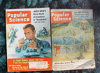 28 ISSUES POPULAR SCIENCE- 1962-1971-CARS,BOATS,MACHINES,SHOP SHORT CUT S& TIPS image 4