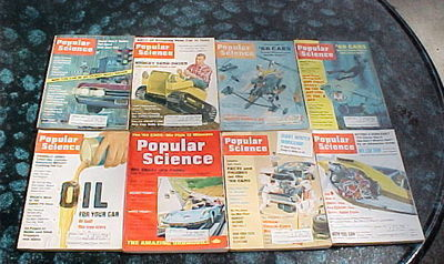 28 ISSUES POPULAR SCIENCE- 1962-1971-CARS,BOATS,MACHINES,SHOP SHORT CUT S& TIPS image 5