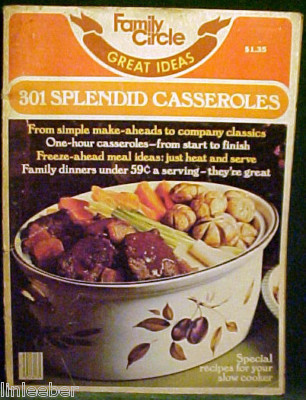 301 SPLENDID CASSEROLES FROM FAMILY CIRCLE JANUARY 1976 image 1
