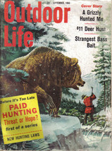 (4) 1960 Outdoor Life MAGAZINES-MARCH,SEPTEMBER,NOVEMBER,DECEMBER-HUNT,FISH,TRAP image 2