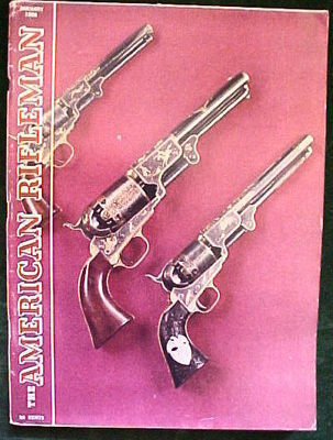 5) American Rifleman 1965 (Apr,Aug,Oct); 1966 (Jan,Feb)-Air Rifles;GUNS;HUNTING image 3